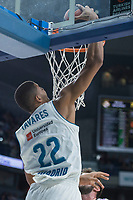 Real Madrid Walter Tavares during Turkish Airlines Euroleague match between Real Madrid and Unicaja at Wizink Center in Madrid, Spain. November 16, 2017. (ALTERPHOTOS/Borja B.Hojas)