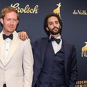 NLD/Utrecht/20191004 - Uitreiking Gouden Kalveren 2019, Robert de Hoog en  Achmed Akkabi
