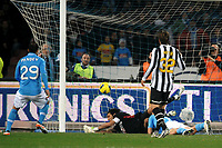 il gol di Marek HAMSIK Napoli<br /> Goal celebration<br /> Napoli 29/11/2011 Stadio San Paolo<br /> Football Calcio Serie A 2011/2012<br /> Napoli Vs Juventus<br /> Foto Insidefoto Andrea Staccioli