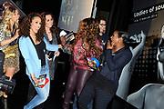 CD en DVD presentatie Ladies of Soul in Club Ziggo Dome, Amsterdam.<br /> <br /> Op de foto: Candy Dulfer, Trijntje Oosterhuis, Berget Lewis, Edsilia Rombley