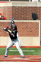 17 April 2016:  Will Farmer during an NCAA Division I Baseball game between the Southern Illinois Salukis and the Illinois State Redbirds in Duffy Bass Field, Normal IL