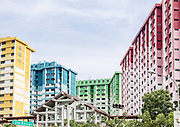 Singapore, residential buildings