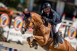 Angot Cedric, FRA, Talent Des Moitiers<br /> Longines FEI Jumping Nations Cup™ Final<br /> Barcelona 20128<br /> © Hippo Foto - Dirk Caremans<br /> 05/10/2018