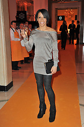 DAME KELLY HOLMES at teh38th Veuve Clicquot Business Woman Award held at Claridge's, Brook Street, London W1 on 28th March 2011.