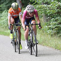 02-09-2017: Wielrennen: Boels Ladies Tour: Vaals  <br />Final attack Anna van der Breggen and Annemiek van Vleuten