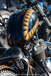 Old School bike show at Willie's Tropical Tattoo during Biketoberfest, Ormond Beach, FL, October 16, 2014, photographed by Michael Lichter. ©2014 Michael Lichter