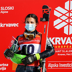 20210202: SLO, Alpine Skiing - FIS European Cup Krvavec 2021, Giant Slalom