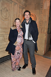 JOANA PAGE and JAMES THORNTON at Cirque du Soleil's VIP night of Kooza held at the Royal Albert Hall, London on 8th January 2013.