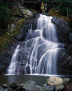Moss Glen Falls, Granville State Reservation, Green Mountains, Vermont.
