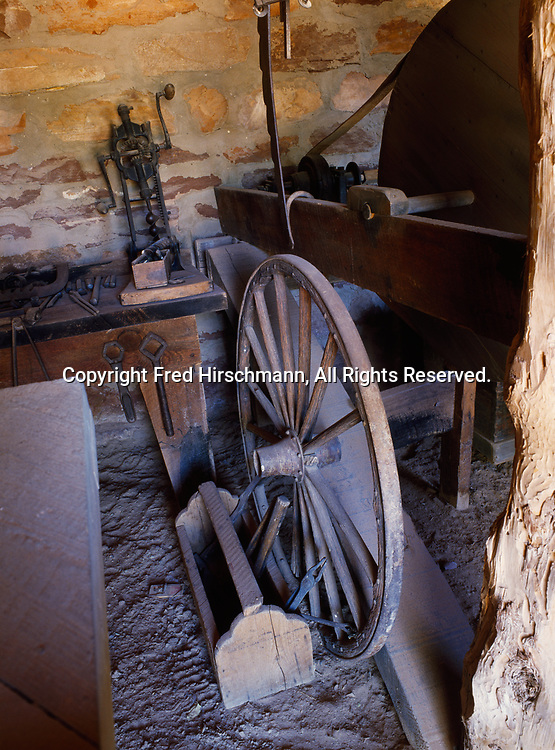 Blacksmith Shop, previously used as quarters in 1870, Pipe Spring National Monument, Arizona.