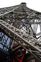 The Eiffel Tower, Paris, France. The tower is 320 metres tall.