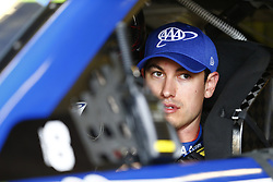 November 3, 2018 - Ft. Worth, Texas, United States of America - Joey Logano (22) hangs out in the garage during practice for the AAA Texas 500 at Texas Motor Speedway in Ft. Worth, Texas. (Credit Image: © Justin R. Noe Asp Inc/ASP via ZUMA Wire)