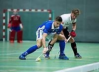 UTRECHT-Zaalhockey hoofdklasse.  Boris Burkhardt  (A'dam) Amsterdam-Kampong . COPYRIGHT KOEN SUYK