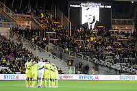 Supporters Nantes - Groupe Nantes - Hommage Jean CLERFEUILLE - 31.01.2015 - Nantes / Lille - 23eme journee de Ligue 1 -<br />