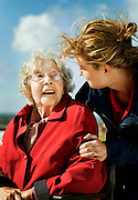 Commercial for Helsingborg and how they take care of the older population.<br /> Photo by Ola Torkelsson ©