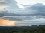 View towards Eyasi lake. Hunting in the Gideru mountains with Kaunda and January, two Hadza hunters.