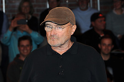 "Look Through My Eyes: Phil Collins zu Gast in der ZDF Talkshow Markus Lanz in Hamburg<br /> <br /> / 131016<br /> <br /> *** Phil Collins attending TV talk show ""Markus Lanz"" in Hamburg, Germany; October 13th, 2016 ***"