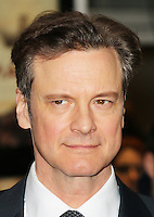 Colin Firth, The Railway Man - UK Film Premiere, Odeon West End, Leicester Square, London UK, 04 December 2013, Photo by Richard Goldschmidt