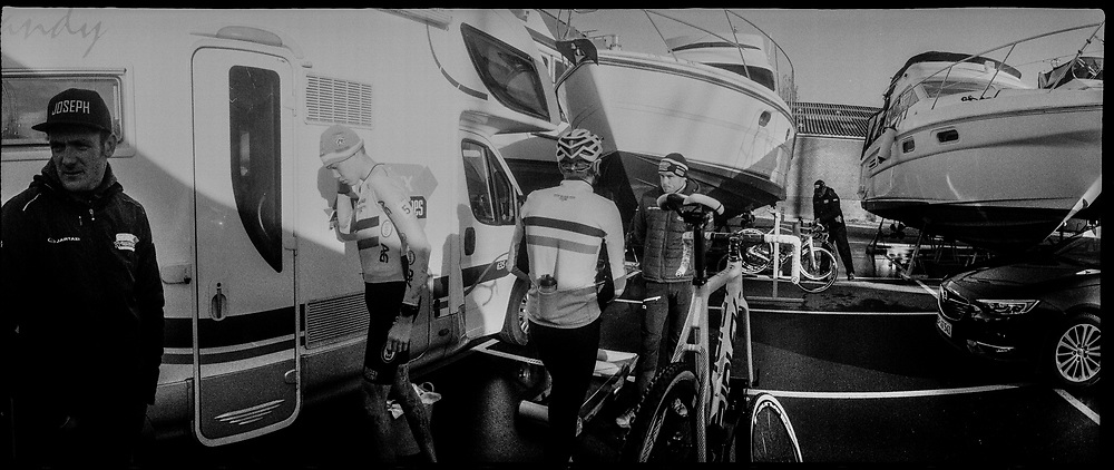 Cyclocross race in Bogense.