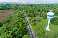 63807-01102 Freight train on Canadian National railroad near Kinmundy, IL