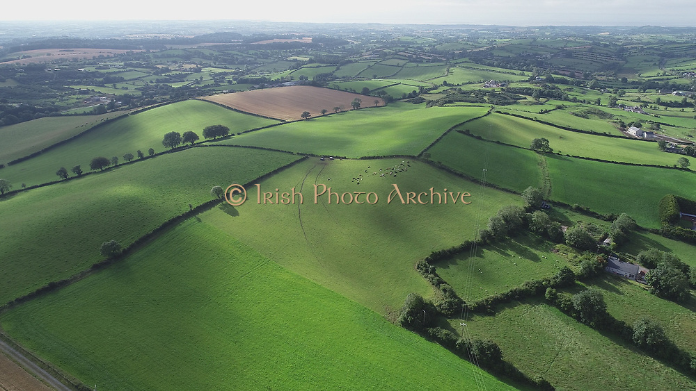 Aerial Images Summer 2020 Around Count Down Ireland, Near Dromaroad and Newry Town,