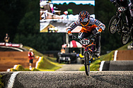 #921 (HARMSEN Joris) NED TeamNL at Round 7 of the 2019 UCI BMX Supercross World Cup in Rock Hill, USA