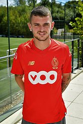 July 31, 2018 - Luik, Belgique - LUIK, BELGIUM - JULY 31 : Maxime Lestienne was presented today at football club Standard Luik as new player for the season 2018-2019 pictured on July 31, 2018 in Luik, Belgium, 31/07/18 (Credit Image: © Panoramic via ZUMA Press)