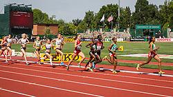 women's 1500 meters, Dawit Sayaum, Ethiopia, Alexa Efraimson, USA