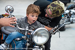 First Ride. Seal Beach, CA. 2013<br /> <br /> Limited Edition Print from an edition of 21. Photo ©2013 Michael Lichter.