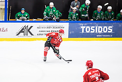 STIPANIC Blaz during the match between HDD Jesenice vs HK SZ Olimpia at 16th International Summer Hockey League Bled 2019 on 24th August 2019. Photo by Peter Podobnik / Sportida
