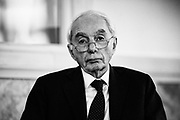 Giuliano Amato during the presentation of a project for the  economic development of Southern Italy. Rome 16 March 2017. Christian Mantuano / OneShot