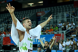 Alen Omic of Slovenia during basketball match between Slovenia vs Netherlands at Day 4 in Group C of FIBA Europe Eurobasket 2015, on September 8, 2015, in Arena Zagreb, Croatia. Photo by Matic Klansek Velej / Sportida