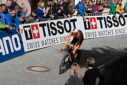 26.09.2018, Innsbruck, AUT, UCI Straßenrad WM 2018, Einzelzeitfahren, Elite, Herren, von Rattenberg nach Innsbruck (54,2 km), im Bild Wilco Kelderman (NED) // Wilco Kelderman of Netherlands during the men's individual time trial from Rattenberg to Innsbruck (54,2 km) of the UCI Road World Championships 2018. Innsbruck, Austria on 2018/09/26. EXPA Pictures © 2018, PhotoCredit: EXPA/ Reinhard Eisenbauer