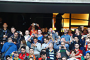 Fans of Portugal during the match against Austria, valid for the European Championship Group F 2016 in the Parc des Princes stadium in Paris on Saturday 18. The game ended 0-0.