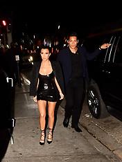 Kourtney Kardashian arrives at her PLT Launch Party - 25 OCt 2017