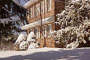 Fresh winter snow, home scene, Cumru Township, Berks Co. PA