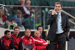 09.06.2011, Stadion Wojska, Warschau, POL, FSP, Poland vs France, im Bild LAURENT BLANC - TRENER, HEAD COACH, EXPA Pictures © 2011, PhotoCredit: EXPA/ Newspix/ CYFRASPORT/ LUKASZ GROCHALA +++++ ATTENTION - FOR AUSTRIA/ AUT, SLOVENIA/ SLO, SERBIA/ SRB an CROATIA/ CRO, SWISS/ SUI and SWEDEN/ SWE CLIENT ONLY +++++