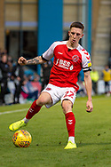 Fleetwood Town forward Ashley Hunter (22) during the EFL Sky Bet League 1 match between Gillingham and Fleetwood Town at the MEMS Priestfield Stadium, Gillingham, England on 3 November 2018.<br /> Photo Martin Cole