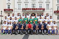 2016.07.08 Plock<br /> Pilka nozna Ekstraklasa sezon 2015/2016<br /> Sesja zdjeciowa - Wisla Plock<br /> N/z zdjecie grupowe<br /> Foto Piotr Augustyniak / PressFocus<br /> <br /> 2016.07.08 Plock<br /> football Polish Ekstraklasa<br /> Official photocall of Wisla Plock<br /> team photo<br /> Credit: Piotr Augustyniak / PressFocus