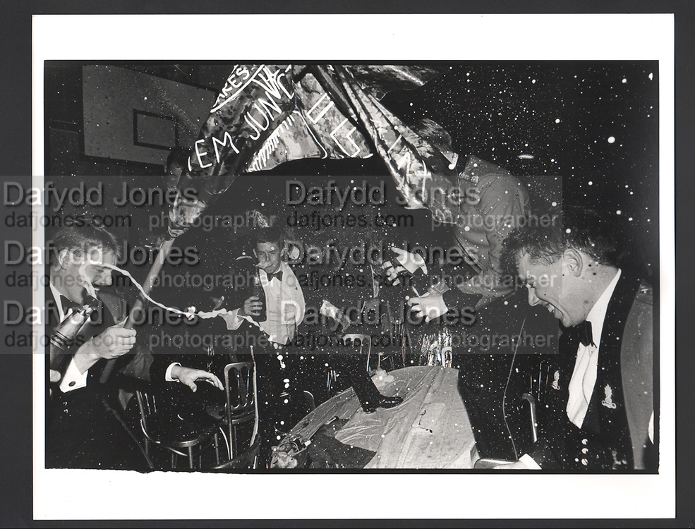 Revellers, Sandhurst Commissioning Ball. 5 August 1988. Exhibition in a Box