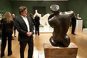 JOHN MACTAGGART, Henry Moore, Tate Britain. London. 22 February 2010