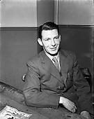 1953 - Garda Dick Farrelly, songwriter at College Street Garda Station