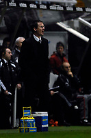Photo: Jed Wee/Sportsbeat Images.<br /> Newcastle United v Zulte-Waregem. UEFA Cup, 2nd Leg. 22/02/2007.<br /> <br /> Newcastle manager Glenn Roeder encourages his team from the touchline.