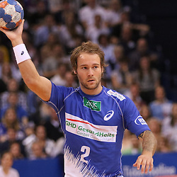 Hamburg, 24.05.2015, Sport, Handball, DKB Handball Bundesliga, HSV Handball - SG Flensburg-Handewitt : Kevin Schmidt (HSV Handball, #02)<br /> <br /> Foto © P-I-X.org *** Foto ist honorarpflichtig! *** Auf Anfrage in hoeherer Qualitaet/Aufloesung. Belegexemplar erbeten. Veroeffentlichung ausschliesslich fuer journalistisch-publizistische Zwecke. For editorial use only.