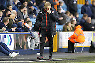 Eddie Howe, the Bournemouth manager looking dejected on the touchline. The Emirates FA Cup 3rd round match, Millwall v AFC Bournemouth at The Den in London on Saturday 7th January 2017.<br /> pic by John Patrick Fletcher, Andrew Orchard sports photography.