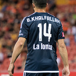 BRISBANE, AUSTRALIA - OCTOBER 7: Fahid Ben Khalfallah of the Victory looks on during the round 1 Hyundai A-League match between the Brisbane Roar and Melbourne Victory at Suncorp Stadium on October 7, 2016 in Brisbane, Australia. (Photo by Patrick Kearney/Brisbane Roar)