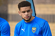 Oxford United midfielder (on loan from West Ham United) Marcus Browne (10) during the EFL Sky Bet League 1 match between Wycombe Wanderers and Oxford United at Adams Park, High Wycombe, England on 15 September 2018.