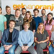 NLD/Amsterdam//20170419 - Castpresentatie film Gek op Oranje, cast