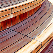 Image of decking on Saphire Princess Cruise Ship