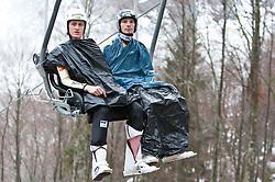 17.03.2011, Planica, Kranjska Gora, SLO, FIS World Cup Finale, Ski Nordisch, Skiflug, im Bild Robert Kranjec (SLO, #51) // Robert Kranjec (SLO) during a training session of the Ski Jumping World Cup finals in Planica, Slovenia, 17/3/2011. EXPA Pictures © 2011, PhotoCredit: EXPA/ J. Groder